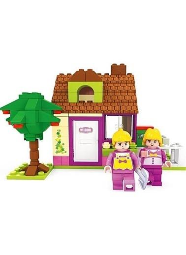ASYA Oyuncak Asya Oyuncak 013124403 E Bricks Peri 156 Parça Renkli Blok Seti Renkli